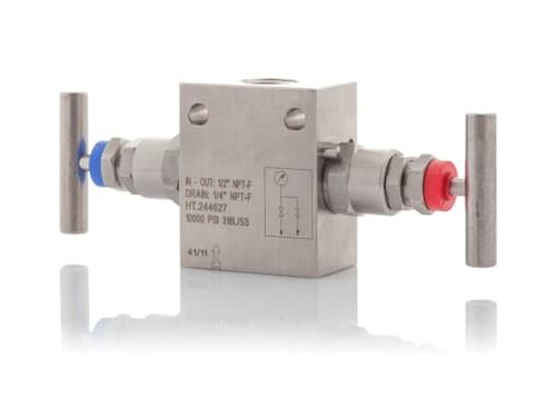 ABB instrumentation manifolds for 2600T pressure transmitters M26