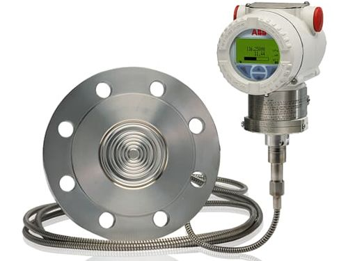 ABB 266GRT gauge pressure transmitter with remote diaphragm seal