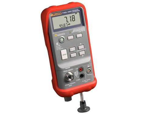 Fluke 718Ex 30G, 100G, and 300G intrinsically safe pressure calibrator