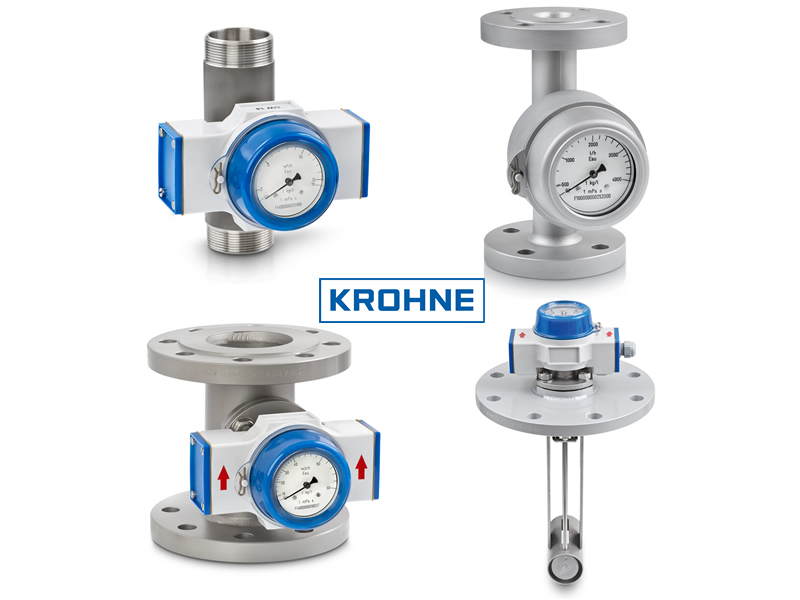 KROHNE mechanical flow controller DW 184.
