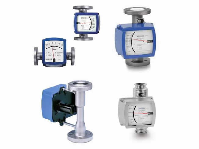 KROHNE variable area flowmeters H250 specials.