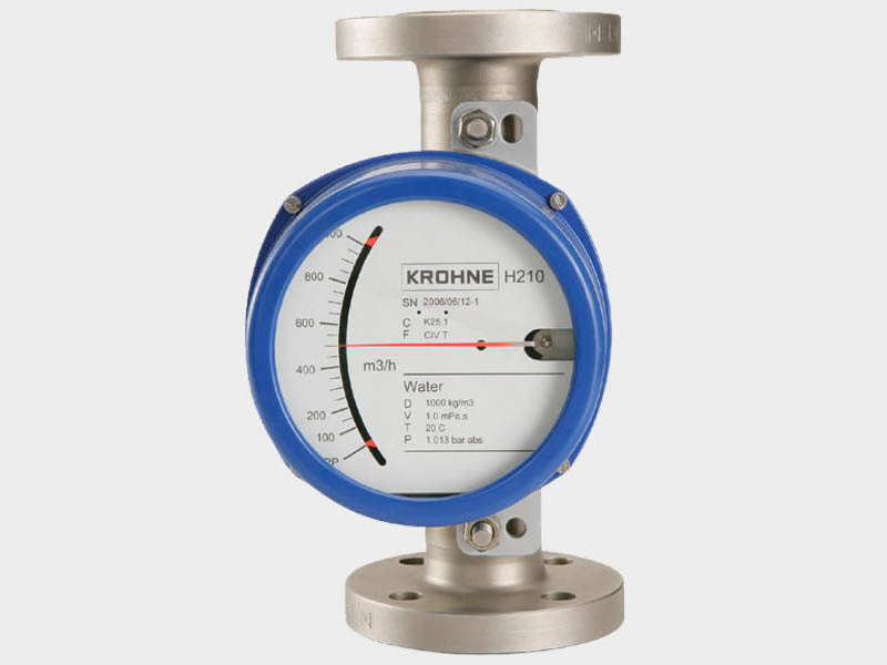 KROHNE all-metal variable area flowmeter H210.
