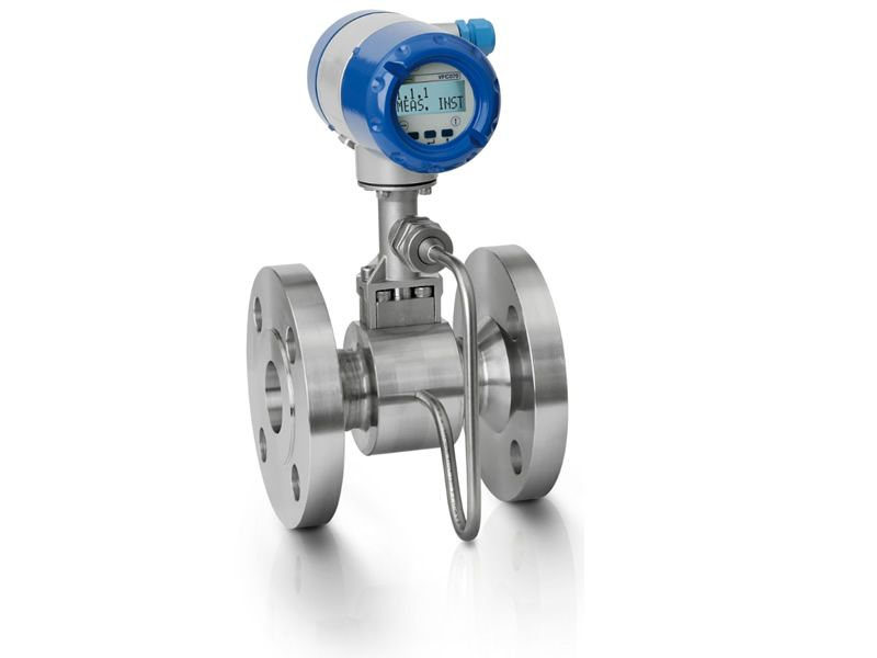 KROHNE OPTISWIRL 4070 C vortex flowmeter for internal energy balancing.