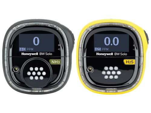 BW Solo BWS-E-Y Yellow housing ETO Single-Gas Detector