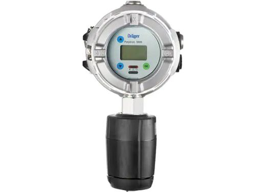 Dräger Polytron® 5100 Calibration adapter Viton®