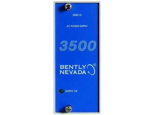 Bently Nevada 3500/15-05-03-02 AC and DC Power Supplies