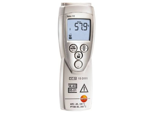 Testo 112 officially calibratable temperature measuring instrument