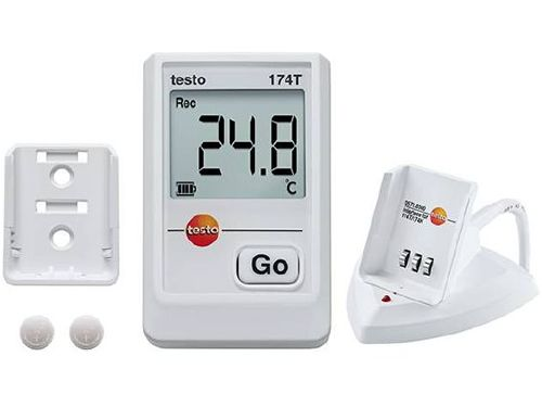 Testo 174T kit mini temperature data logger (1-channel)