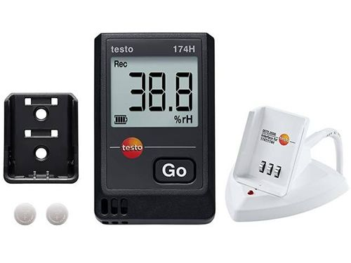 Testo 174H kit temperature and humidity mini data logger