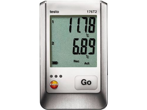 Testo 176 T2 2-channel temperature data logger