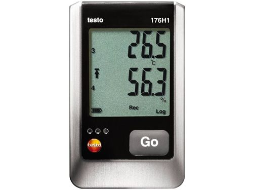 Testo 176 H1 4-channel humidity and temperature data logger