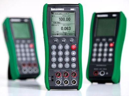 Beamex MC2 hand-held documenting process calibrator.