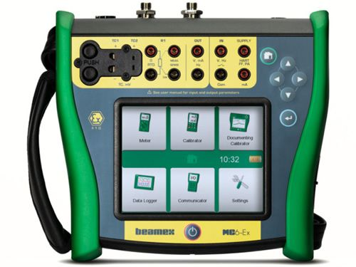 Beamex MC6-Ex intrinsically safe field calibrator and communicator.
