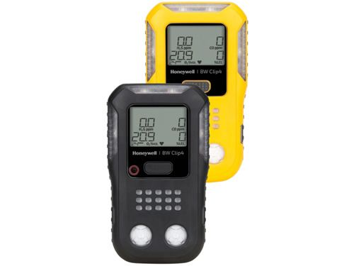 Honeywell BW Clip4 multi-gas detector